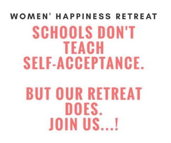 Schools Don't Teach Self-Acceptance. But Our Retreat Does.
